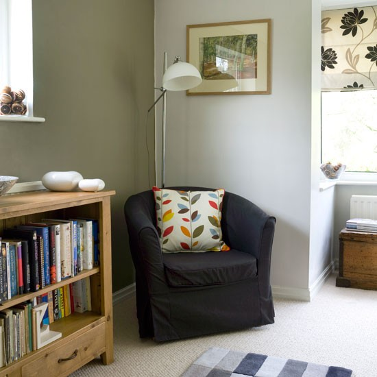Living Room Warm And Inviting Country Cottage