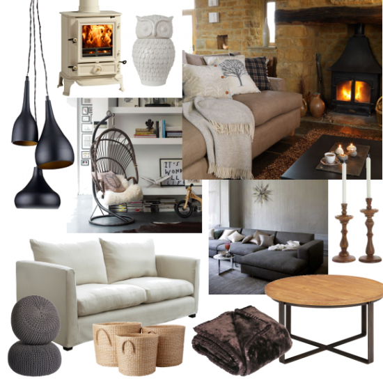 Cosy Autumn Living Room