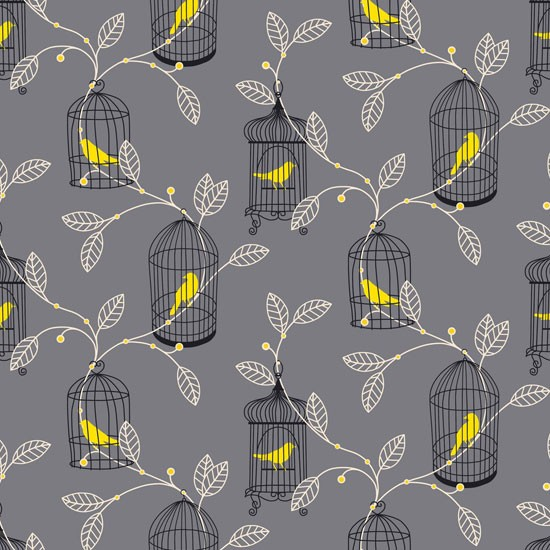 Aviary wallpaper from b q b q autumn winter 2012 trends for B q bedroom planner