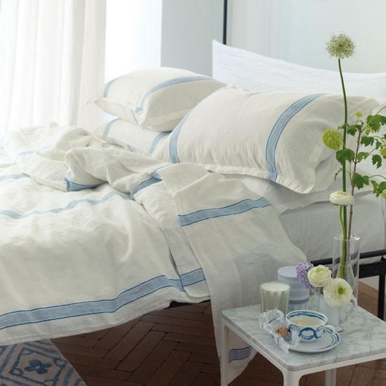 Fresh from the med bedlinen 10 of the best for Designers guild bedroom ideas