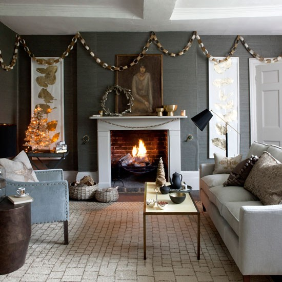 Grey Living Room Cosy Design Ideas