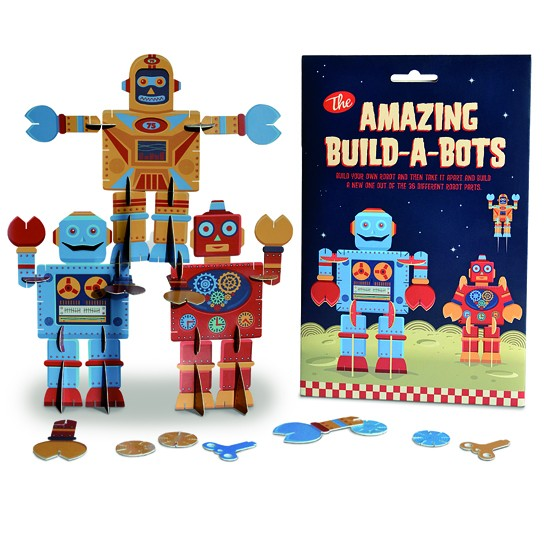 Amazing Build-a-Bots by Fairwind | Christmas gifts | Top ten for boys | PHOTO GALLERY | Housetohome.co.uk