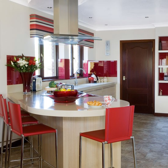 35 Best Idea About L Shaped Kitchen Designs Ideal Kitchen: Family-friendly L-shaped Kitchen