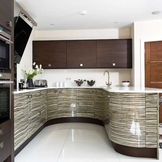 Practical layout be inspired by a bold patterned kitchen for Practical kitchen ideas