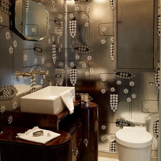 Metallic Cloakroom Cloakroom Ideas