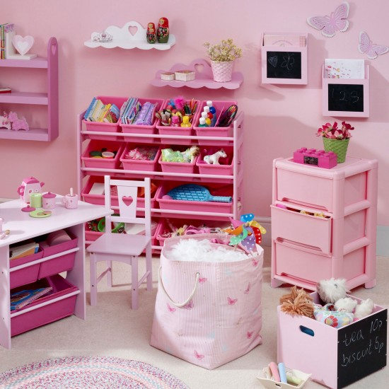 Unidades brinquedo rosa | Tchildren da quartos | GALERIA DE FOTOS | Estilo em Casa | Housetohome