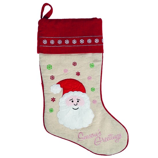 Santa Claus Christmas Stocking From Dotcomgiftshop Best