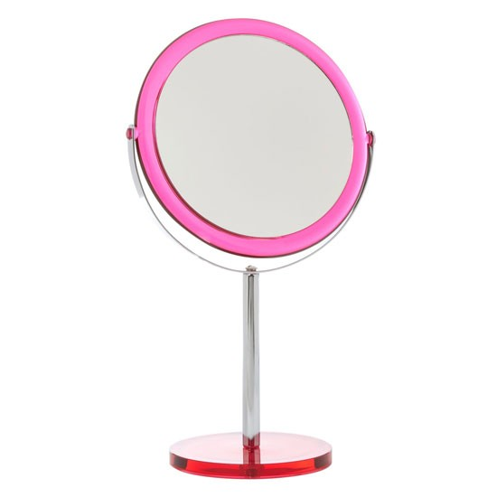 Pink Acrylic Mirror By Linea At House Of Fraser Bathroom Mirrors