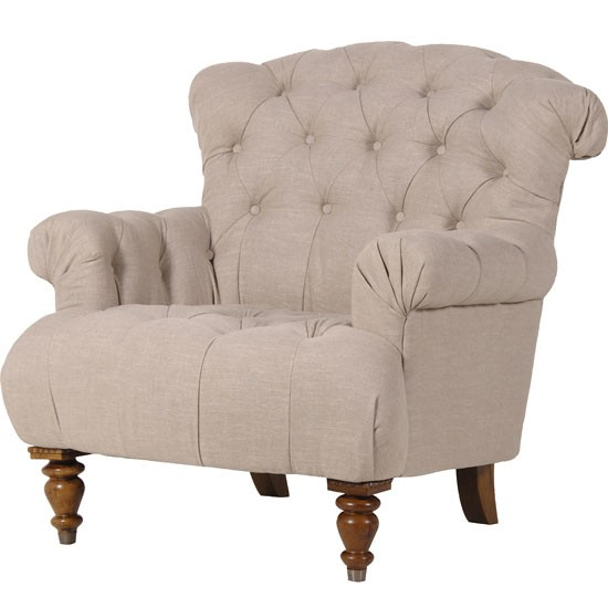 Fabrice armchair from Sweetpea amp Willow : Buttoned armchair from Sweetpea Willow Country Homes and Interiors Housetohomecouk from www.housetohome.co.uk size 550 x 550 jpeg 37kB