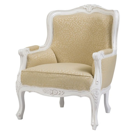 White and cream bedroom ideas - Chateau Armchair From Newtons Living Room Photo Gallery Country