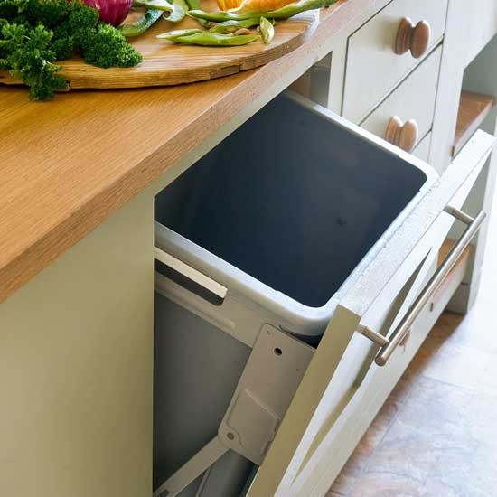 integral bin take a tour around a restful farmhouse kitchen recycle bin kitchen trash bins kitchen recycling