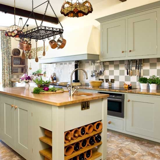 Practical layout | Kitchen design ideas | PHOTO GALLERY | Beautiful ...