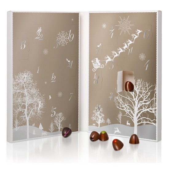 Romantic Advent Calendar Ideas : Truffles for two advent calendar from hotel chocolate