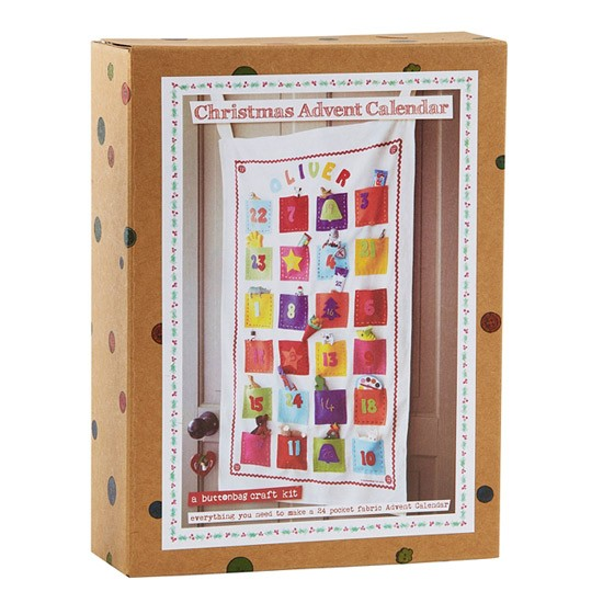 Calendar Kit Ideas : Make your own advent calendar kit from john lewis