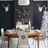 Christmas glamour - 7 dining room ideas