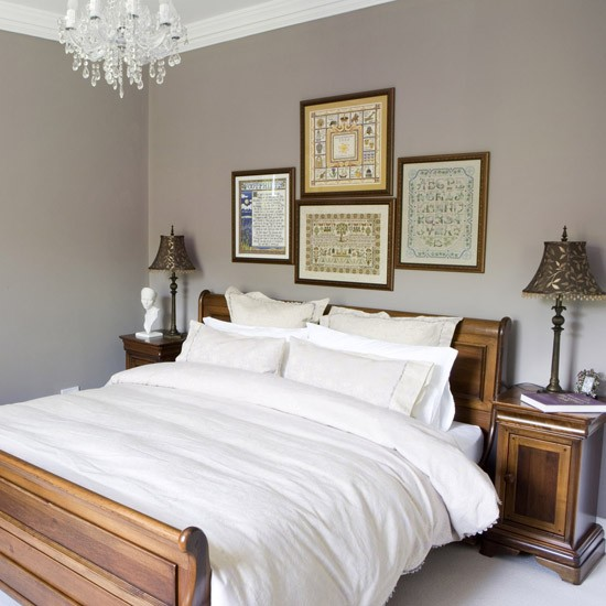 Guest bedroom house tour vicarage county durham for Pictures of beautiful guest bedrooms