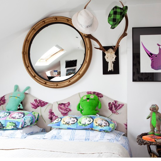 Quirky accessorised children's room | Decorating ideas | 25 Beautiful Homes | Housetohome