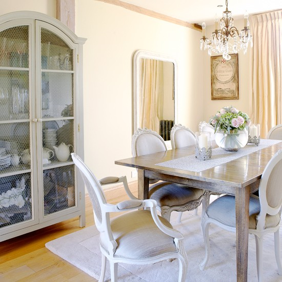 Cream country dining room | Decorating ideas | Country Homes & Interiors | Housetohome
