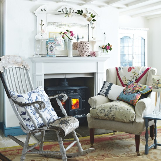 Shabby Chic Living Room Housetohomecouk
