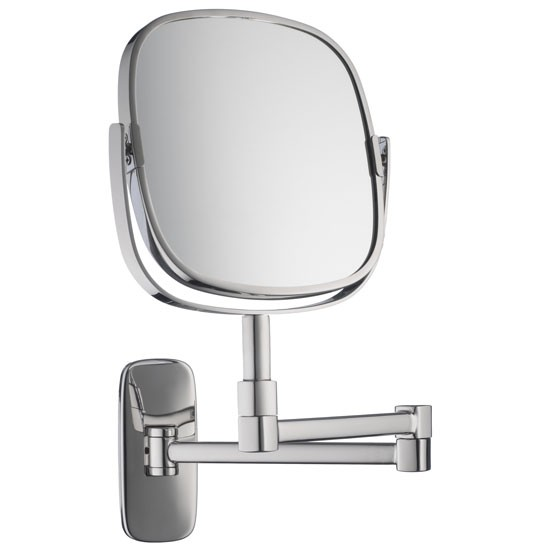 Burford Extendable Magnifying mirror by Robert Welch from John Lewis | Bathroom mirrors - 10 of the best | Bathroom accessories | PHOTO GALLERY | Livingetc | housetohome
