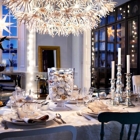 Make your table shimmer | Christmas decorating ideas | PHOTO GALLERY | Style at Home | Housetohome