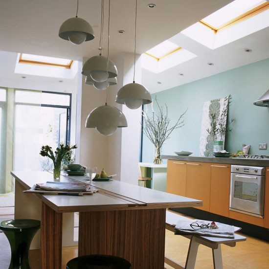 Multilevel lighting  Kitchen lighting ideas  housetohome.co.uk