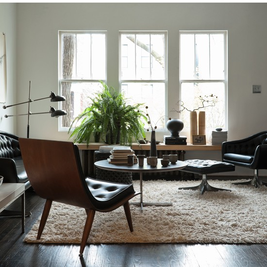 Living room | Be inspired by a rustic mid-century Chicago cottage | House Tours | PHOTO GALLERY | Livingetc | Housetohome