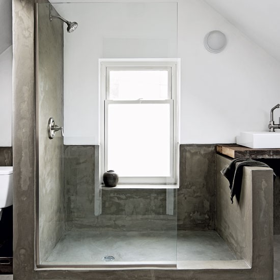 Bathroom | Be inspired by a rustic mid-century Chicago cottage | House Tours | PHOTO GALLERY | Livingetc | Housetohome