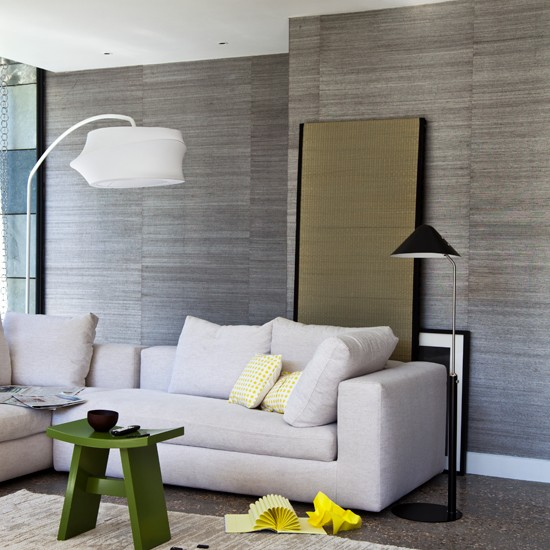 Neutral modern living room | Modern decorating ideas | Livingetc | Housetohome