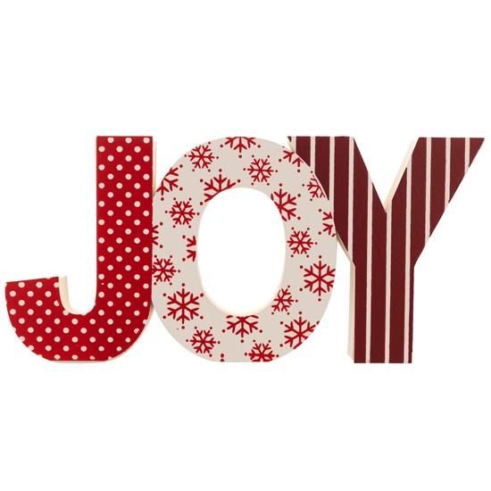 Joy Lettering From Sainsburys
