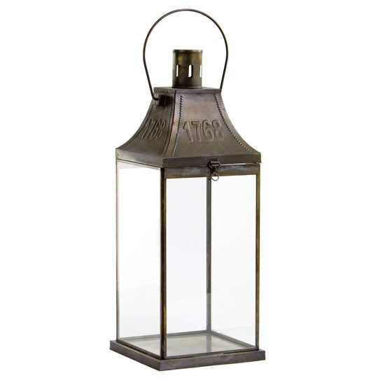 Antiquity Metal Lantern From Artisanti New England Trend
