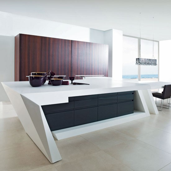Kitchen island ideas - Modern kitchen with island ...