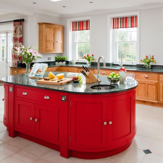 Outstanding Bold red island | Kitchen islands - 10 ideas | Kitchen | PHOTO GALLERY  550 x 550 · 66 kB · jpeg