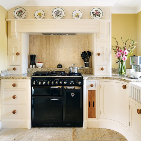 Country Kitchen Range: Rustic Country Kitchen