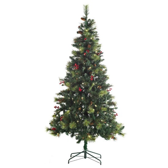 LED Columbia Christmas Tree From B&Q