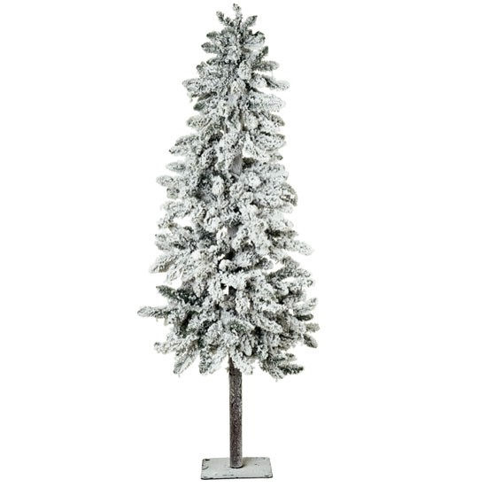 Pre-Lit Artificial Snow Effect Alpine Tree from Marks & Spencer | Faux Christmas tree | Fake Christmas trees | PHOTO GALLERY | Livingetc | housetohome