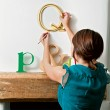 Make your walls pop with decorative letters