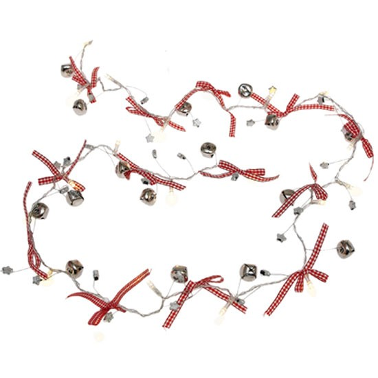 Jingle Bells Light Garland from Dotcomgiftshop | Fairy lights | Lighting | PHOTO GALLERY | Livingetc | housetohome