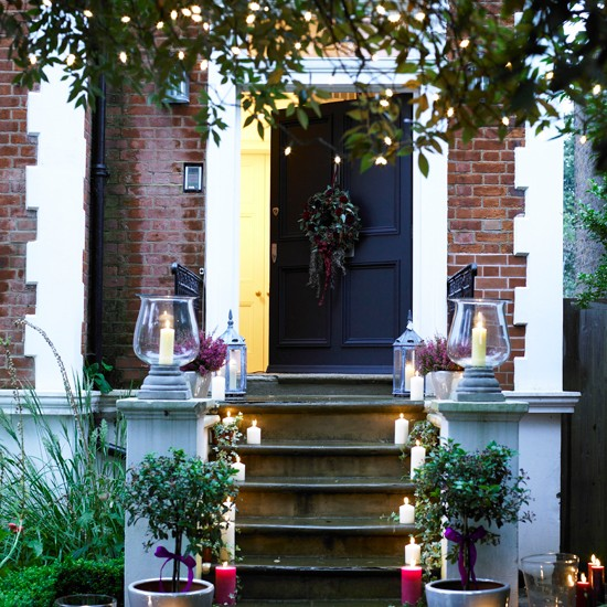 Christmas porch decorations | Christmas | PHOTO GALLERY | Housetohome