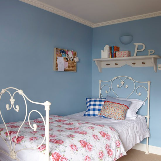 Girl's bedroom | Country cottage | PHOTO GALLERY | Ideal Home | Housetohome