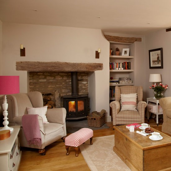Living Room Country Cottage PHOTO GALLERY Ideal Home