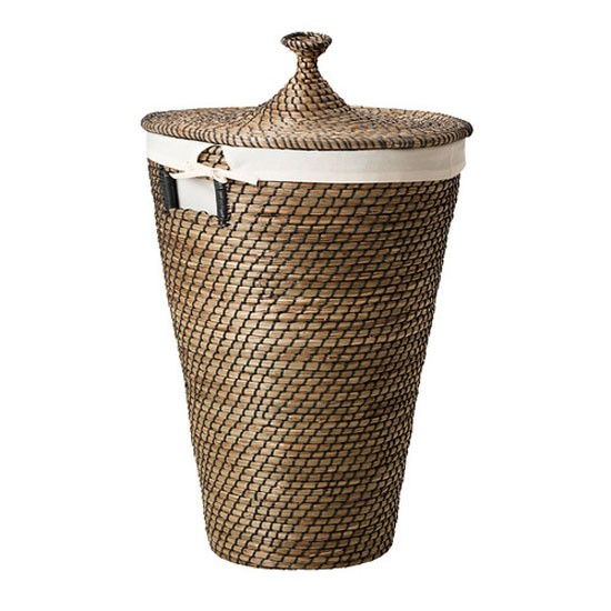 Asunden seagrass laundry basket from Ikea | Bathroom | Bedroom | PHOTO GALLERY | Homes and Gardens | Housetohome