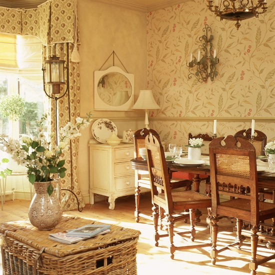 Wallpaper ideas for dining room 2017 grasscloth wallpaper for Wallpaper for dining room feature wall