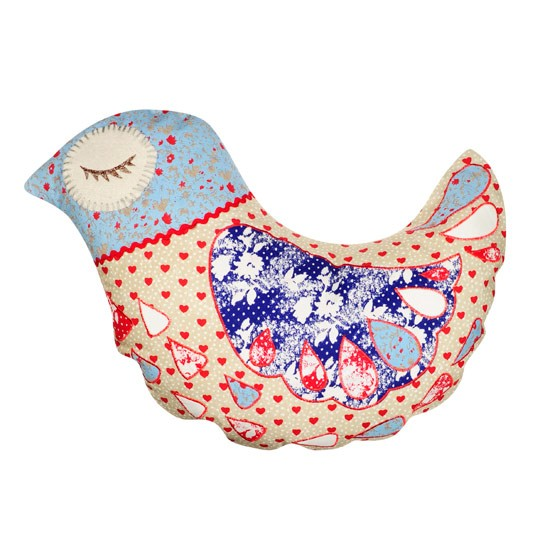 Betty Birdie cushion from BHS | Craft Autumn Winter trend | PHOTO GALLERY | Style at Home | Housetohome