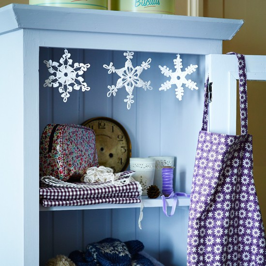 Hang paper snowflakes | Homemade Christmas ideas | PHOTO GALLERY | Housetohome.co.uk