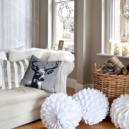 Simple paper lanterns | Homemade Christmas ideas | PHOTO GALLERY | Housetohome.co.uk