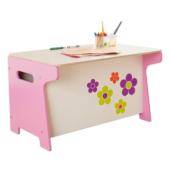 Flower Toy Box and Desk by Millhouse at Tesco | Children's