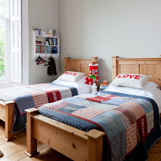 Cosy Twin Beds Elegant Family Home