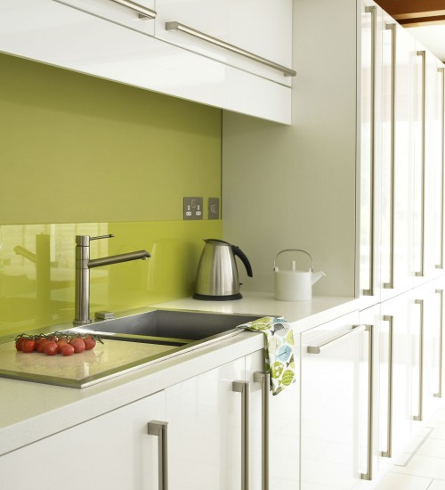 Wonderful White with Green Kitchen Splashback 500 x 550 · 44 kB · jpeg