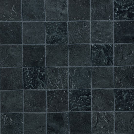Black sparkle kitchen floor tiles wood floors for Black vinyl floor tiles